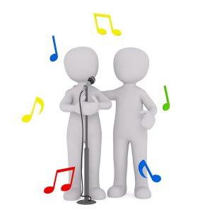 אנשים שרים
