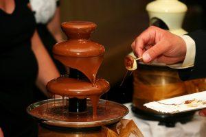 מפל של שוקולד